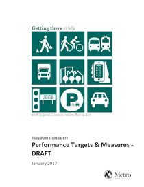 Transportation Safety Performance Measures and Targets