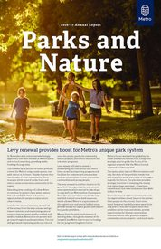 Parks and Nature Annual Report 2016-17