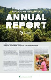 Parks and Nature Annual Report 2014-15