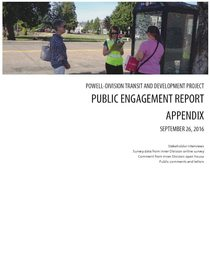 Public engagement report: Summer 2016 (appendices)