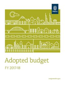 FY 2017-18 adopted budget