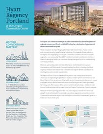 Hotel project fact sheet