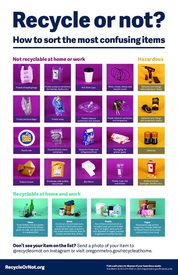Recycle or Not poster – English