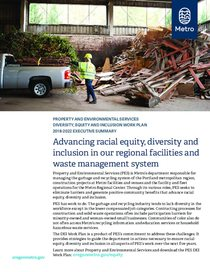 Property and environmental services: Racial equity plan executive summary