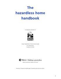 Hazardlesss Home Handbook