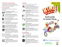 Bike There! safety quick guide