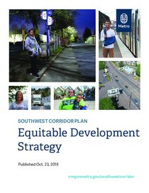 Southwest Corridor Equitable Development Strategy Report