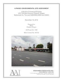 Appendix C1: Phase I Environmental Site Assessment