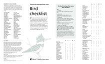 Portland area bird checklist