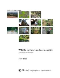 Wildlife corridors and permeability