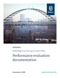 Appendix I - Performance evaluation documentation