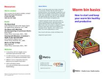 Worm bins basics