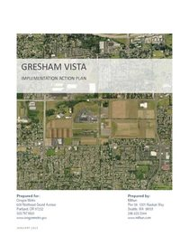 Gresham Vista action plan