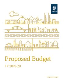 FY 2019-20 proposed budget