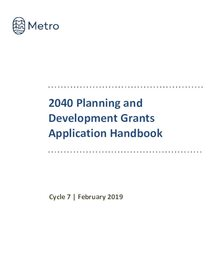 Cycle 7 grant application handbook
