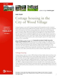 Wood Village case study