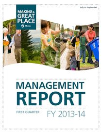 2013-14 quarter 1 management report