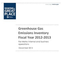 2012-13 GHG emissions inventory