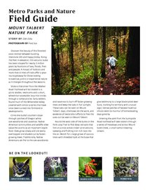 Mount Talbert Field Guide
