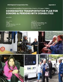Appendix G - Coordinated Transportation Plan for Seniors and Persons with Disabilities