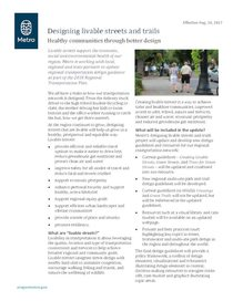 Design fact sheet: Designing livable streets and trails