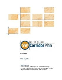 Southwest Corridor Plan Charter