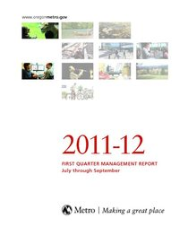 2011-12 quarter 1 management report