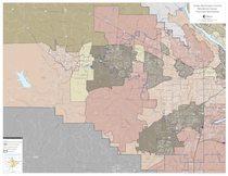 Hauler franchise boundaries map: Washington County