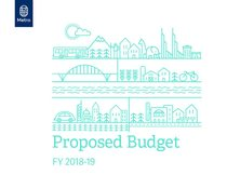 FY 2018-19 proposed budget presentation