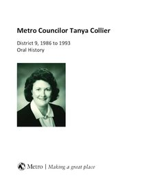 Metro Councilor Tanya Collier