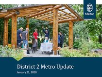 Metro District 2 update - winter 2020