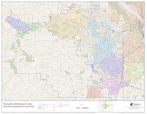 Jurisdictional boundaries map: Washington County