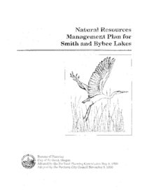 Natural resources management plan for Smith and Bybee Lakes