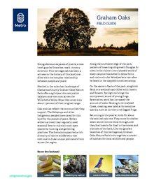 Graham Oaks field guide