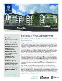 Saltzman Road Apartments