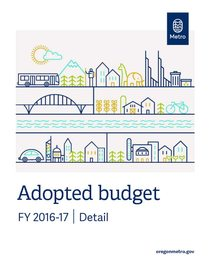 FY 2016-17 adopted budget – detail