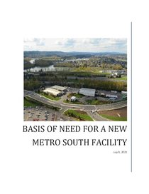Future Metro South basis of need