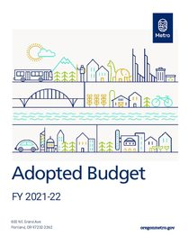 FY 2021-22 adopted budget