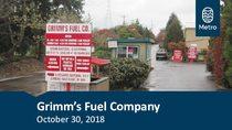 Grimm's Fuel Company Community Conversation Metro presentation: Oct. 30, 2018