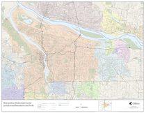 Jurisdictional boundaries map: Multnomah County
