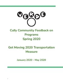 Verde Get Moving 2020 Engagement Report