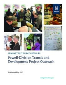 Outreach evaluation findings