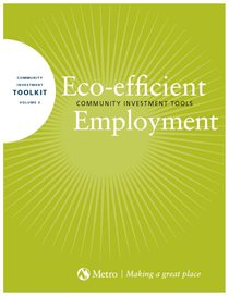 Eco-efficient Employment