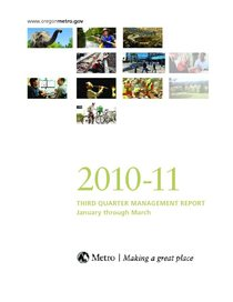 2010-11 quarter 3 management report