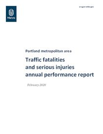 2014-18 Traffic fatalities and serious injuries annual performance report