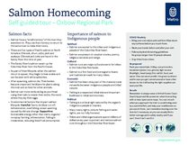 Self-guided Salmon Homecoming