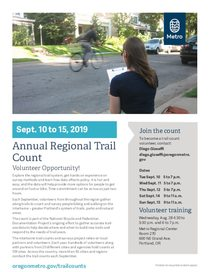 2019 Annual Regional Trail Count Flyer