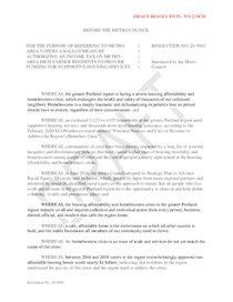 Draft Resolution 20-5083