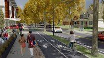 Community street rendering 2