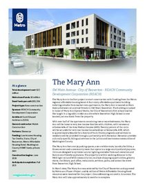 The Mary Ann